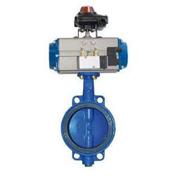 A351 CF8M Spherical Disc Butterfly Valve