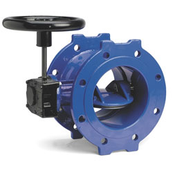 Double Eccentric Wafer Butterfly Valve