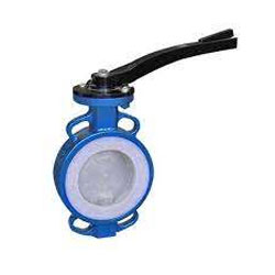 pfa coated Lug Type Butterfly Valve