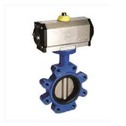 Stainless Steel Pneumatic Actuated Butterfly Valve