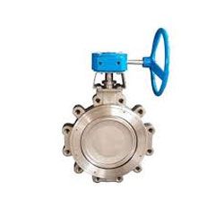 ASTM A351 CF8 Pneumatic Cylinder Operated Butterfly Valve