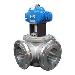 ASTM A351 CF8M 3 Way Diverting Control Valve
