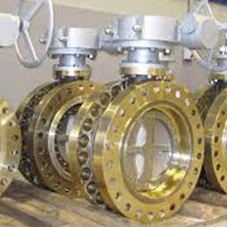 Copper Nickel Double Eccentric Butterfly Valve