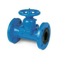 DIN 1.4301 Weir Diaphragm Valves